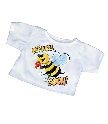 Bee Well Soon T-Shirt Teddy Bear Clothes Fits Most 14