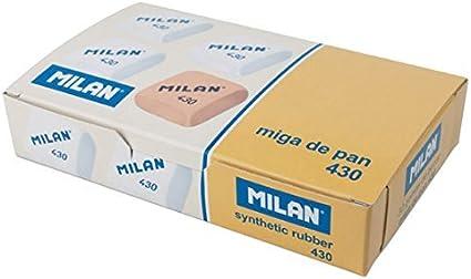 Pack 30 Gomas de Borrar miga de pan Milan-430 + 12 lápices ...