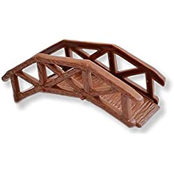 Wooden Footbridge Garden Bridge Cake Topper Craft Model Projects