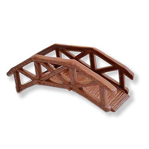 Wooden Footbridge Garden Bridge Cake Topper Craft Model Projects