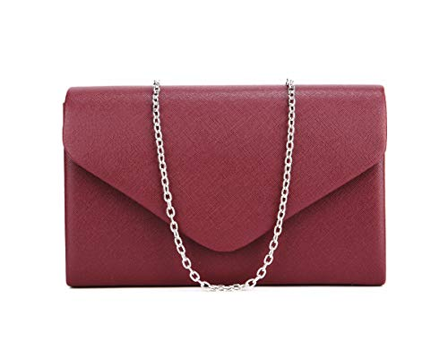 Nodykka Crossbody Bags for Women Pu Leather Evening Shoulder Handbag Clutch Purse Party Bridal ()