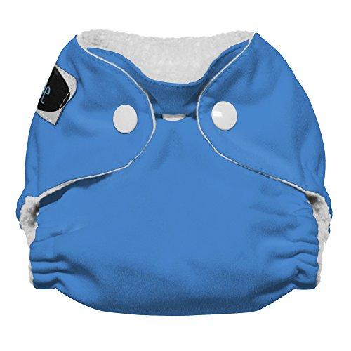Price comparison product image Imagine Baby Products Newborn Stay Dry All-In-One Snap Cloth Diaper, Indigo