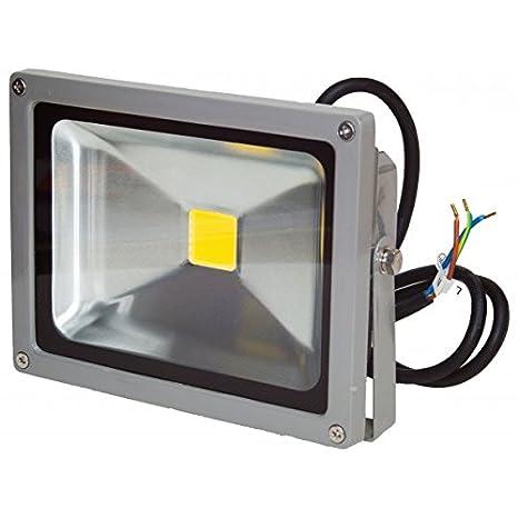 Proyector LED 20 W 12/24 V Blanco Cálido Ip65 exterior: Amazon.es ...
