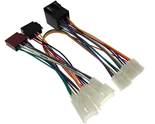Parrot THB Adaptor Bluetooth Cable ISO Connector Wiring: Amazon.co.uk: Electronics