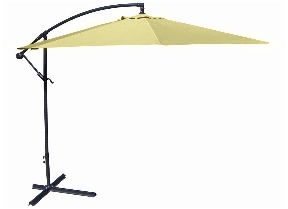 Amazon.com: 10 Offset lona Patio paraguas, Verde: Jardín y ...
