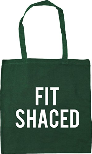 Gym Bag 10 Shaced Bottle Beach x38cm Fit 42cm Green Shopping Tote HippoWarehouse litres xUPIYqW