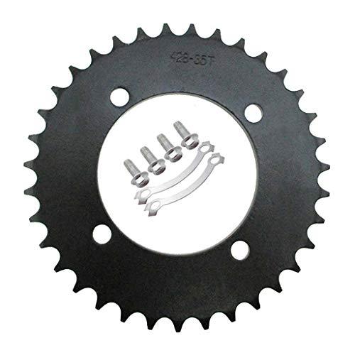 TC-Motor 428 76mm 35T Rear Chain Sprocket For Chinese Pit Dirt Bike SSR Thumpstar CRF50 XR50 50cc 70cc 90cc 110cc 125cc 140cc 150cc 160cc Motorcycle