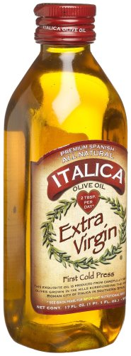Italica Extra Virgin Olive Oil, 17-Ounce Bottles (Pack of 3)