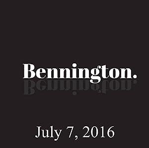 Bennington, Ron Bennington Archive, July 7, 2016 Radio/TV Program