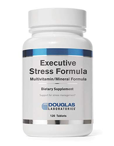 Douglas Laboratories - Executive Stress Formula - Vitamins, Minerals, Enzymes, and Herbals to Support Body's Defense Against Stress* - 120 Tablets
