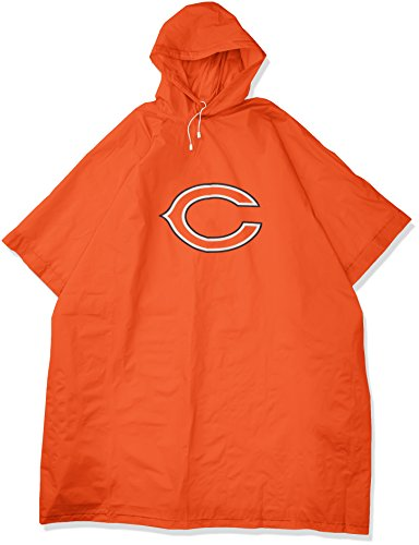 The Northwest Company Officially Licensed NFL Chicago Bears Deluxe Poncho