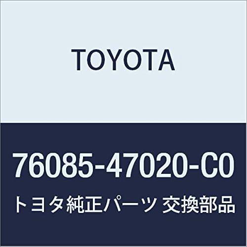 76085-47020-C0 Rr Spoiler Sub-Assy Genuine Toyota Parts