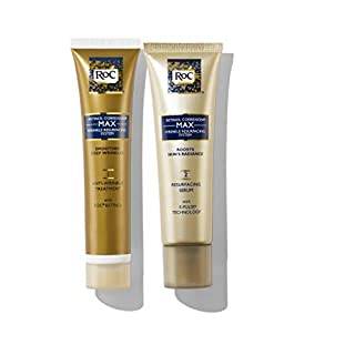 RoC Retinol Correxion Max Wrinkle Resurfacing Anti-Aging Skin Care System, Deep Wrinkle Treatment with Retinol, 2 items