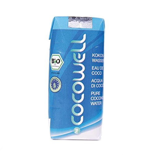 Cocowell Pure Coconut Water - organic (12 X 330ML) by Cocowell by Cocowell