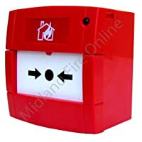 KAC Fire Alarm Conventional Manual Call Point Back Box Included by Midland Fire On-Line