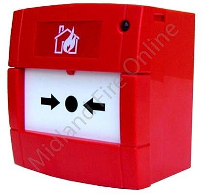 Alarma de incendio KAC convencionales Manual llamada punto ...