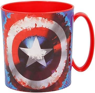 ALMACENESADAN 2242; Taza microondas Avengers; Capacidad 350 ml ...