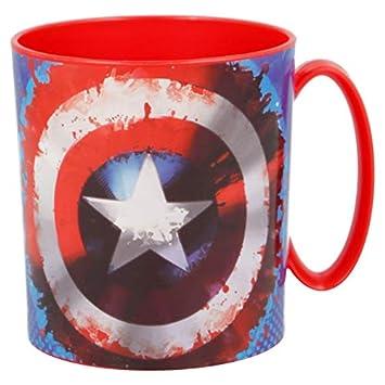 ALMACENESADAN 2242; Taza microondas Avengers; Capacidad 350 ml; Producto de plástico; No BPA.