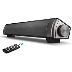 Sound Bar Home Theater System 2018 upgraded With Wired, Bluetooth Speaker - Wireless for Tablet, cell phone, tv