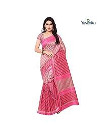 Ethnicfashionista Bhagalpuri Silk Designer Saree syuvef000104