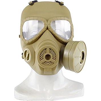 haoYk táctico Dummy anti niebla máscara de gas M04 con Turbo ventilador Airsoft paintbal protección Gear