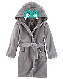 OshKosh B\'Gosh Big Boys\' Robe Polar Fleece Monster Robe (10)