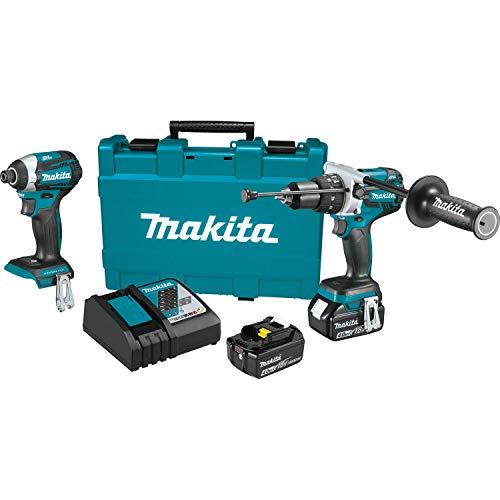 Makita XT268M 18V LXT Lithium-Ion Brushless Cordless 2-Pc. Combo Kit (4.0Ah)