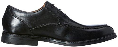 Clarks Vestir Hombre Beckfieldapron Piel Zapatos De Negro