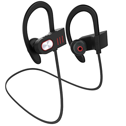 hhusali bluetooth headphones wireless in ear earbuds v4 1 sports sweatproof earphones premium. Black Bedroom Furniture Sets. Home Design Ideas