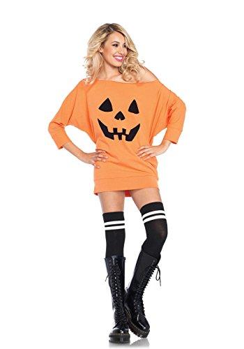 [Jersey Dress Pumpkin Costume (Small/Medium 4-8)] (Adult Pumpkin Halloween Costumes)