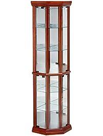 Display Amp Curio Cabinets Amazon Com