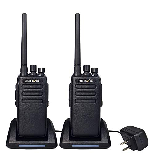 Retevis RT81 2 Way Radio High Power Ham Radio Long Range IP67 Waterproof Walkie Talkies 32 Channel Digital Two Way Radios(2 Pack)