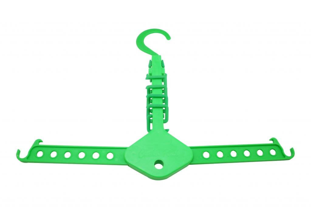 Generic Wardrobe Space Saving Saver Fold away Clothes Magic Tie Hanger Closet Organizer Shops Display Pack of 2