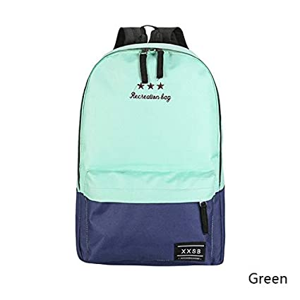 Amazon.com: Fashion Girl Backpacks Female Rucksack School ...