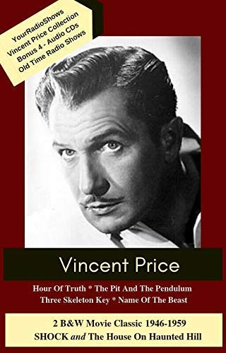 Amazon Com Vincent Price Collection Haunting Classic Stories Handmade