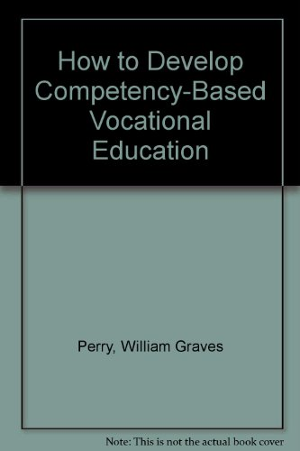 How to Develop Competency-Based Vocational Education
