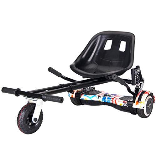 Lvbeis Hoverkart Asiento para Hoverboard Silla Kart Patinete EléCtrico Compatible Go Kart Self Balancing Scooter