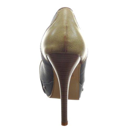 Kickly - Zapatos de Vestir Mujer