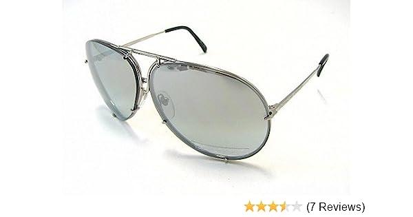b7587ca192 Amazon.com  PORSCHE DESIGN P8478 B Sunglasses P 8478 Titanium Silver Frame   Shoes