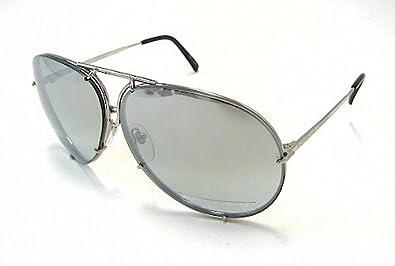 c9e581ff23af Image Unavailable. Image not available for. Color  PORSCHE DESIGN P8478 B Sunglasses  P 8478 Titanium ...