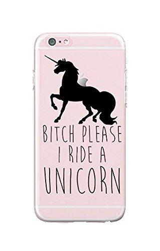 iPhone 7 Plus  Durable Slim Case  Bitch Please I#039M A Unicorn  Quotes  Fun Quotes  Sassy  Unicorn