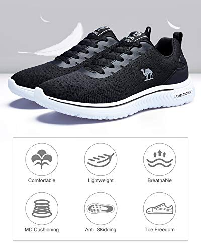 CAMEL CROWN Men's Running Shoes, Tennis Shoes Fashion Sneaker Lightweight Athletic Casual Sport Workout Walking Jogging… 3