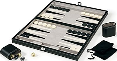 Mainstreet Classics 15-inch Classic Backgammon Set from Mainstreet Classics
