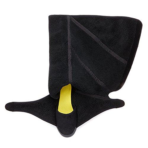 Fem Finger Furoshiki Shearling Vinter - Unisex Minimalistisk Sko Med Sår Lukning Og Ekstra Varm Fodring - Alle Modeller Sort 4CKNoM0jSh