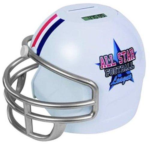 (Football Helmet Coin Counter 1 pcs sku# 1223931MA)