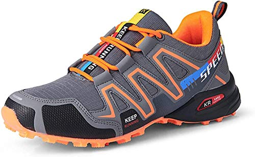 Fietsschoenen Voor Heren, Racefietsschoenen Mountainbike Fiets MTB-schoenen, Antislip en Ademende Casual…