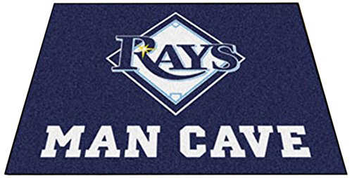 Fanmats 22476 Mlb-Tampa Bay Rays Man Cave All-Star (Floor Mat Rug Tampa Bay)