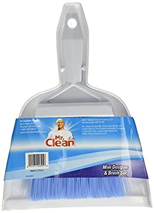 Mr. Clean Mini-Sweep Compact Dustpan And Brush Set by Mr. Clean