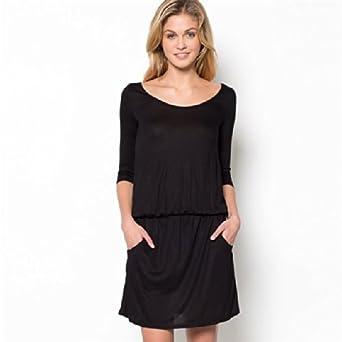 9ed3849055d R edition shopping prix - Robe - Femme Noir Noir  Amazon.fr ...