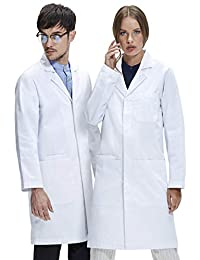 Dr. James Professionally Designed Unisex Lab Coat (40 Inch Length)